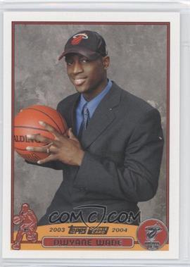2003-04 Topps - [Base] #225 - Dwyane Wade
