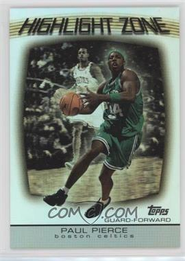 2003-04 Topps - Highlight Zone #HZ-1 - Paul Pierce