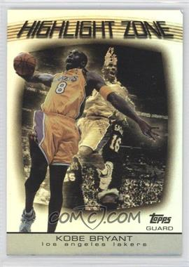2003-04 Topps - Highlight Zone #HZ-20 - Kobe Bryant