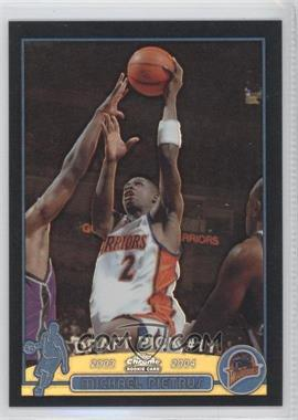2003-04 Topps Chrome - [Base] - Black Refractor #121.1 - Mickael Pietrus (English Language) /500