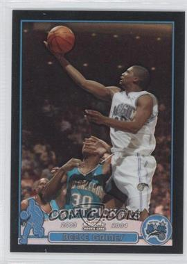 2003-04 Topps Chrome - [Base] - Black Refractor #125 - Reece Gaines /500