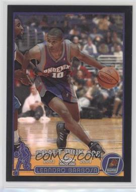 2003-04 Topps Chrome - [Base] - Black Refractor #138.2 - Leandro Barbosa (Portuguese Language) /500