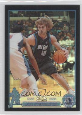 2003-04 Topps Chrome - [Base] - Black Refractor #154.1 - Jon Stefansson (English Language) /500