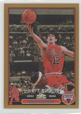 2003-04 Topps Chrome - [Base] - Gold Refractor #117 - Kirk Hinrich /50
