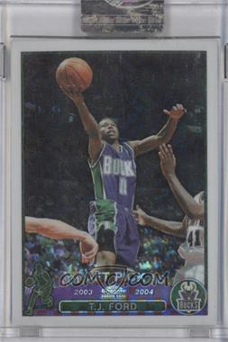 2003-04 Topps Chrome - [Base] - X-Fractor #118 - T.J. Ford /220