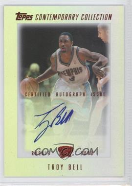 2003-04 Topps Contemporary Collection - [Base] - Red #24 - Troy Bell /50