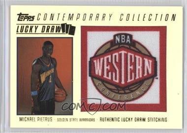2003-04 Topps Contemporary Collection - Lucky Draw #LD8 - Mickael Pietrus /175