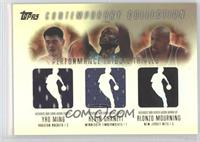 Yao Ming, Kevin Garnett, Alonzo Mourning /250