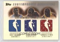 Tracy McGrady, Allen Iverson, Shaquille O'Neal #/250