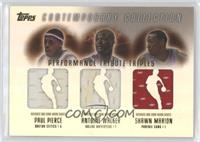 Paul Pierce, Antoine Walker, Shawn Marion #/250