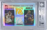 Metta World Peace, Jermaine O'Neal /50 [BGS 9]
