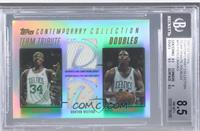 Paul Pierce, Marcus Banks /250 [BGS 8.5]