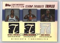 Latrell Sprewell, Michael Olowokandi, Sam Cassell /50