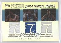 Tracy McGrady, Reece Gaines, Drew Gooden /250