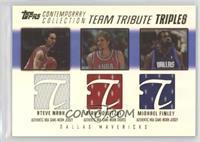 Steve Nash, Dirk Nowitzki, Michael Finley /250