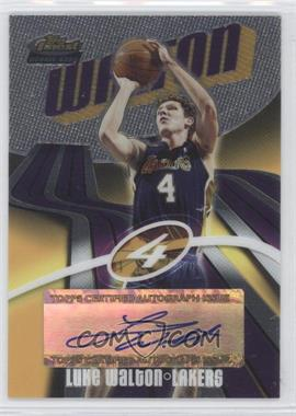 2003-04 Topps Finest - [Base] #150 - Luke Walton /999