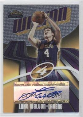 2003-04 Topps Finest - [Base] #150 - Luke Walton /999