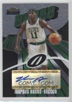 Rookie Autograph - Marcus Banks #/999