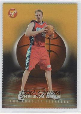 2003-04 Topps Pristine - [Base] - Gold Refractor #117 - Chris Kaman /99
