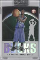 T.J. Ford #/1,999