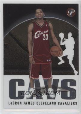 2003-04 Topps Pristine - [Base] #101 - Lebron James