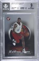 Lebron James [BGS 9 MINT] #/999
