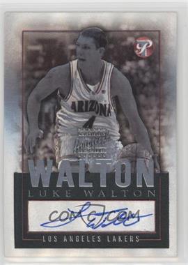 2003-04 Topps Pristine - Personal Endorsements - [Autographed] #PEA-LW - Luke Walton
