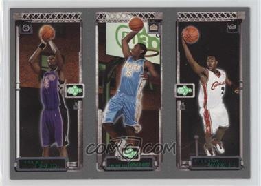 2003-04 Topps Rookie Matrix - [Base] #111-113-114 - Lebron James, Carmelo Anthony, Chris Bosh