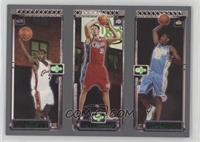 Carmelo Anthony, Chris Kaman, Lebron James