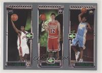 Carmelo Anthony, Kirk Hinrich, Lebron James