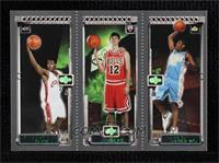 Carmelo Anthony, Kirk Hinrich, Lebron James [Near Mint‑Mint+]