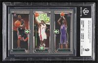 Dwyane Wade, Lebron James, Chris Bosh [BGS 9 MINT]