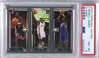 Dwyane Wade, Lebron James, Chris Bosh [PSA 8 NM‑MT]