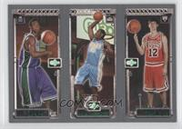 Kirk Hinrich, Carmelo Anthony, T.J. Ford