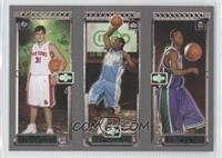 T.J. Ford, Carmelo Anthony, Darko Milicic