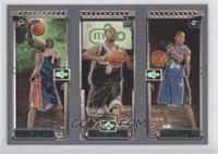 Mickael Pietrus, Troy Bell, Jarvis Hayes