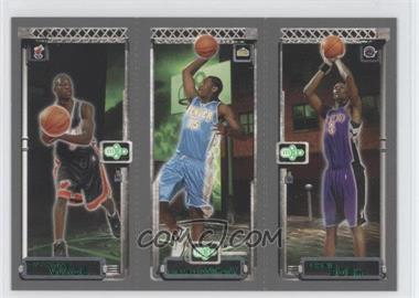 2003-04 Topps Rookie Matrix - Previews #PP1 - Dwyane Wade, Chris Bosh, Carmelo Anthony