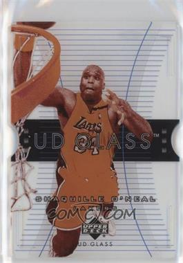 2003-04 UD Glass - [Base] - Plexi-Glass Acetate #25 - Shaquille O'Neal
