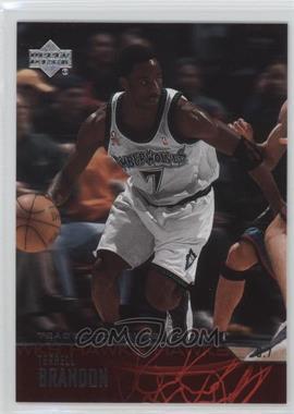 2003-04 Upper Deck - [Base] #5 - Terrell Brandon
