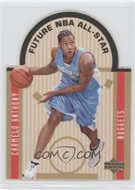 2003-04 Upper Deck - SE Die Cut Future All Stars #E13 - Carmelo Anthony