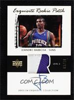 Rookie Patch Auto - Leandro Barbosa #/10