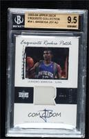 Rookie Patch Auto - Leandro Barbosa [BGS 9.5 GEM MINT] #/225