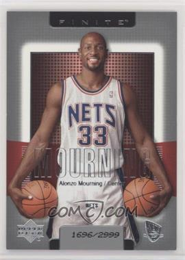 2003-04 Upper Deck Finite - [Base] #117 - Alonzo Mourning /2999