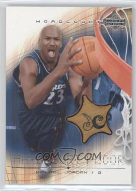 2003-04 Upper Deck Hardcourt - Hardcourt Floor #MJ-F - Michael Jordan