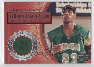 2003-04 Upper Deck Hardcourt - Lebron James Floor #LB3 - Lebron James