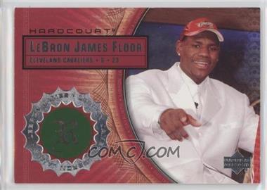 2003-04 Upper Deck Hardcourt - Lebron James Floor #LB4 - Lebron James