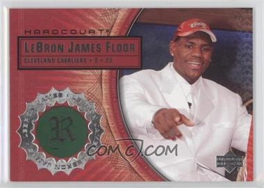 2003-04 Upper Deck Hardcourt - Lebron James Floor #LB4 - Lebron James