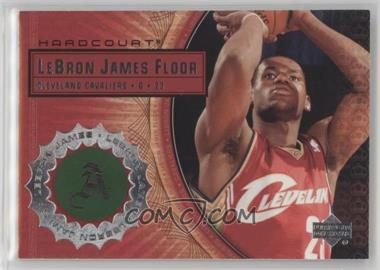 2003-04 Upper Deck Hardcourt - Lebron James Floor #LB8 - Lebron James