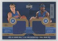 Darko Milicic, Richard Hamilton #/100