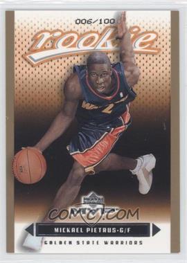 2003-04 Upper Deck MVP - [Base] - Gold #211 - Mickael Pietrus /100